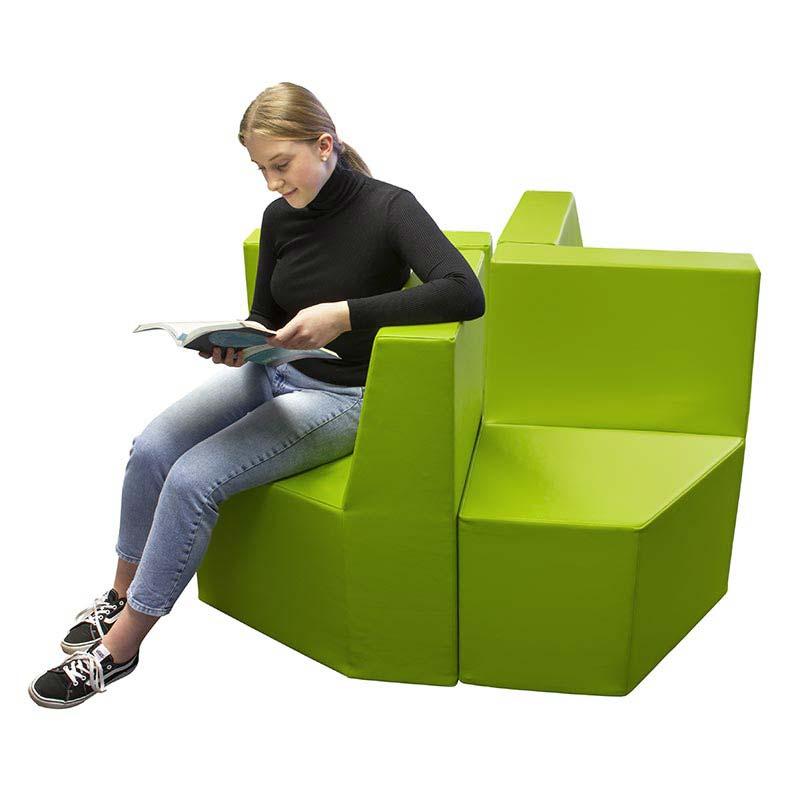 Sitzelement mit Rückenlehne